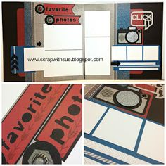 CTMH ProPlayer Layout with Artbooking Cricut Cartridge.  www.scrapwithsue.blogspot.com