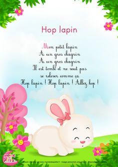 Paroles_Hop Lapin - Comptine pour les petits
