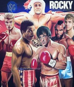 Rocky vs The World Rocky Series, Rocky Film, Rocky Balboa Poster, Rocky Poster, Rocky Stallone, Stallone Movies, Boxing Images, Silvester Stallone, Creed Movie