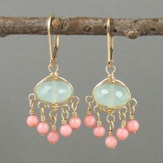 These are beautiful earrings.