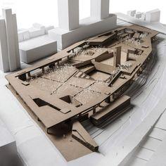 给大家分享几张非常精致细腻,高大上的建筑模型图-创意图库-设计e周