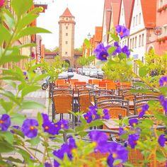 ローテンブルク,ドイツ 可愛らしいローテンブルクの街並み。  #ローテンブルク #ドイツ #ロマンチック街道 #rothenburg #germany #instatravel #travelgram