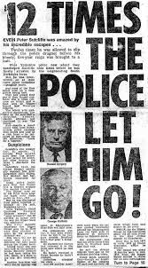 What investigation methods where used in the case of the yorkshire ripper?