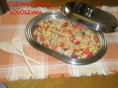 Cozinhaterapia Vovoszinha: Salada de bacalhau com risoni