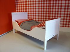 bopita romy juniorbed wit  - Kinderbeddenstore