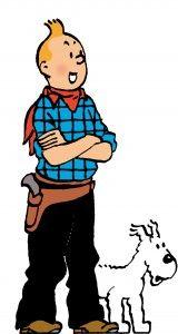 Tintin & Snowy in America