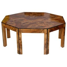 1stdibs - Italian Burl Coffee Table explore items from 1,700  global dealers at 1stdibs.com