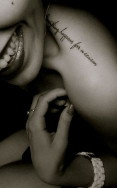 wanted this saying tattooed on me for years but wasn't sure where or font...love this tho