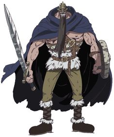 Dorry the Blue Ogre is one of the two former captains of the Giant Warrior Pirates from Elbaf. It is from his pirate life that he earned a bounty of He is an ally of the Straw Hat Pirates during the Little Garden Arc. Character Sheet, Character Art, Character Design, One Piece All Characters, Marley Brothers, One Piece Crew, One Peace, Pirate Life, Roronoa Zoro