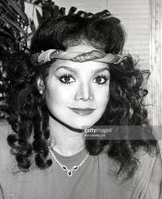 LaToya Jackson during Annual American Video Awards Nominees Announcement at Kathy Gallagher's Restaurant in Los Angeles, California, United States. Jackson Family, Janet Jackson, Michael Jackson, American Video, Life Is Tough, Stage Show, The Jacksons, Family Values, Layered Jewelry