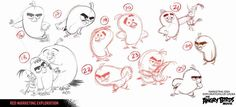 Discover The Art of Angry Birds Movie in a collection of Concept Art made for the movie. Find out why the birds are so angry. When an island populated by Simple Character, Character Concept, Concept Art, Character Design, Angry Birds Characters, Bird Sketch, Walt Disney Animation Studios, 3d Animation, Cartoon Birds