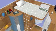 Cube affordable prefabricated tiny houses (qb-33, 9sq/m)