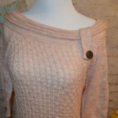 Sweater Nice Maurices sweater. Size L.  3/4 sleeve. Maurices Sweaters Cowl & Turtlenecks