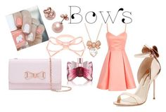 """""""Put a bow on it!"""" by teen-dream ❤ liked on Polyvore featuring Ella+Mila, Sophia Webster, Kate Spade, Ted Baker, Viktor & Rolf and bows"""