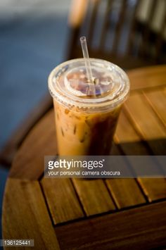 to-go cup and different use of light (natural early morning or twilight)