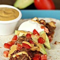 slow cooker carne asada steak tacos