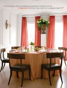 ohemgee, love round tables with long tablecloths