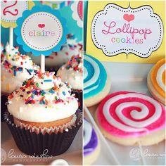 Lollipop cookie!