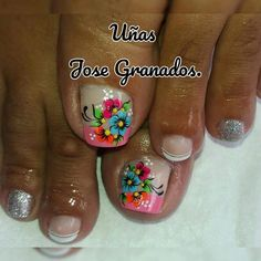 My Life Style, Erika, Hair Beauty, Nails, Finger Nails, Toenails Painted, Pretty Toe Nails, Toe Nail Art, Ongles