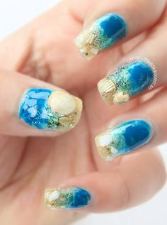 Little Beauty Bag: NOTD - Take me to the Ocean Nails