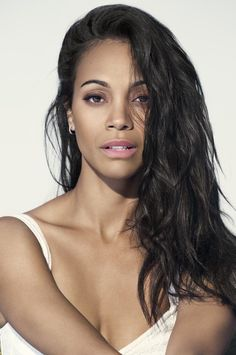 Zoe Saldana has long been an advocate of autism awareness with organizations such as Actors For Autism, Autism Speaks, and the annual event Light It Up Blue. Zoe Saldana, Pure Beauty, Ebony Beauty, Beauty Women, Michelle Trachtenberg, Jessica Biel, Amber Rose, Beautiful Celebrities, Beautiful Actresses