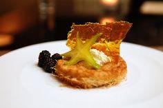 Kunefe; Crispy Phyllo Shreds, Honey and Clotted Cream at Pera Soho in NYC