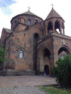 Saint Hripsime Church (Armenian: Սուրբ Հռիփսիմե եկեղեցի, Surb Hřip'simē yekeghetsi; sometimes Hripsimeh)[5][6] is a seventh century Armenian Apostolic church in the city of Vagharshapat (Etchmiadzin), Armenia. It is one of the oldest surviving churches in the country. It was listed as a UNESCO World Heritage Site along with other nearby churches, including Etchmiadzin Cathedral, Armenia's mother church, in 2000.