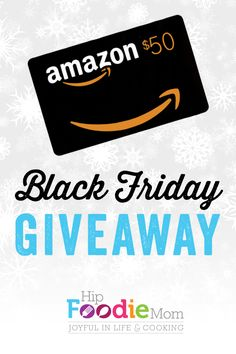 Black Friday Giveaway!! $50 Gift Card to Amazon.com! #giveaway #blackfriday.    http://giveaways.promosimple.com/enter-to-win-a-50-gift-card-to-amazon-com-3/