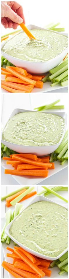 A delicious and flavorful dip made with Greek yogurt, kale, and lots of healthy vegetables!