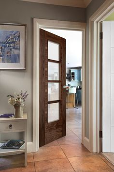 Iseo Oak - beautiful glazed door for modern homes Oak Fire Doors, Oak Doors, Glazed Fire Doors, Internal Doors Modern, External Wooden Doors, Oak Interior Doors, Walnut Doors, Porch Doors, Timber Door