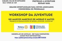 Magazine de Noticias Boanerges Gonçalves: WORKSHOP DA JUVENTUDE 2020 EM ROTAY Rotary Club, Youth