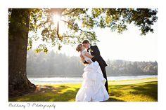 Waverly Country Club wedding, bride groom pose, www.bethanyf.com