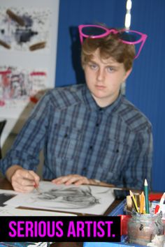 Bradders now studying Art at Camberwell, London.