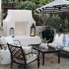 """Visit our internet site for more information on """"outdoor kitchen designs layout patio"""". It is actually an excellent area to find out more. Backyard Fireplace, Diy Fireplace, Stucco Fireplace, Fireplaces, Outdoor Rooms, Outdoor Living, Outdoor Decor, Outdoor Ideas, Wooden Greenhouses"""