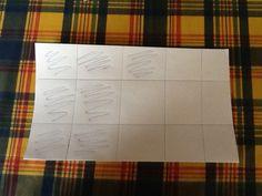 7/15 La hoja está dividida en 15 trozos pero 7 están pintados.
