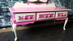 Pink dressing table relook by Pif