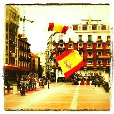 Soy español, esta es mi bandera