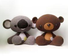 Huggable Bear And Koala Amigurumi Pattern