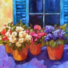 """Daily Paintworks - """"Savannah Porch"""" by Libby Anderson by elvira"""