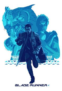 Blade Runner by Stephen Sampson *