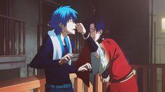 """Me : """"Yup, Koujaku is gay. Liked Aoba at first sight."""""""