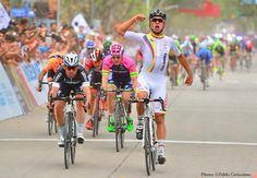 peloton magazine retweeted Renaat Schotte @wielerman Colombian Youngster Gaviria beating the Manx Express #TdSL pic.twitter.com/ChdBtLlzsN