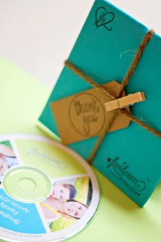 The Thank you tag - twine, and my logo as a stamp in corner <3    Packaging0012 682x1024 DIY Disc Packaging
