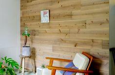 【切って貼って工作しよう】¥4,090/m²〜 貼ることができる5mm厚の足場板。床・壁・天井・家具などを木にできます。