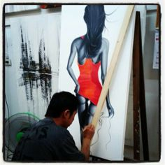 Lady in Red #ingallery #khaolak #bangniang #redress #lady #ladyinred