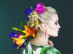 """TROPICALICIOUS""  Photos: Iiris Heikka Hair and style: Susanna Poméll Make-up: Pinja Pennanen"