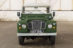 Recently supplied and serviced by The Land Rover Centre, this lovely Series III is ready for winter! Repainted in Deep Bronze Green, the chassis has been refurbished and it drives very well. Within the last few months, the front brakes have been rebuilt and new front springs fitted with less than 50 miles since. | eBay!
