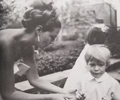 Joan with Teddy Jr and Kara (in background)