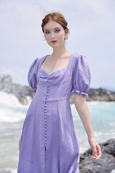 Edgy Outfits, Cool Outfits, Lilac Dress, Button Dress, Latest Fashion Trends, Cold Shoulder Dress, Summer Dresses, Wedding Dresses, Fashion Styles