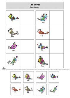 Nounou Lolo 88 - Les paires : les oiseaux